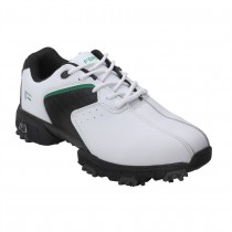 Forgan Leather III Golf Shoes - White / Black