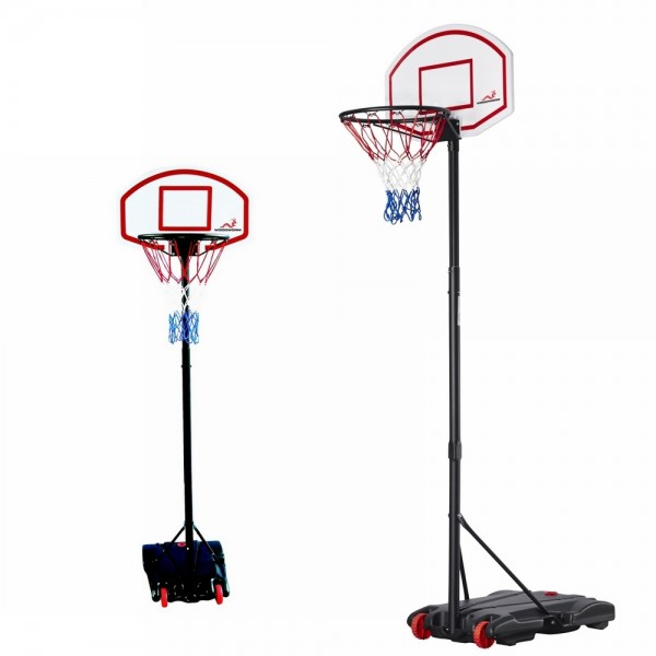 Woodworm Adjustable Basketball Stand & Hoop Set - The